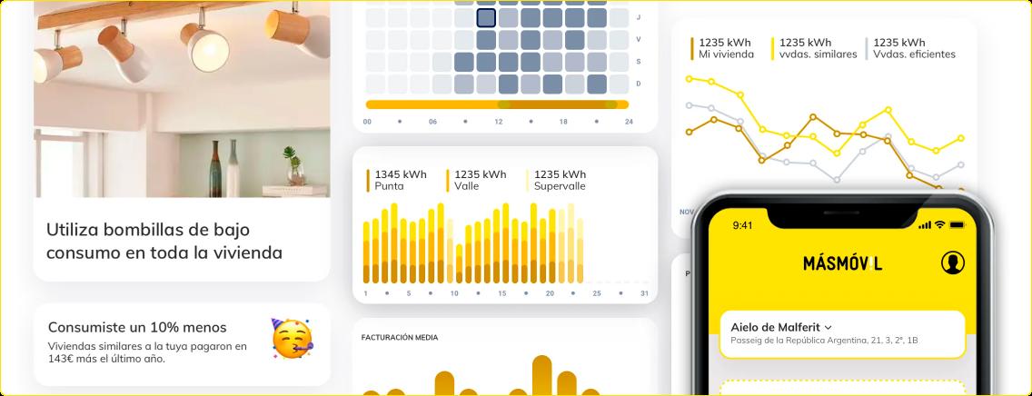 MÁSMÓVIL ENERGÍA - Una App para ahorrar al máximo